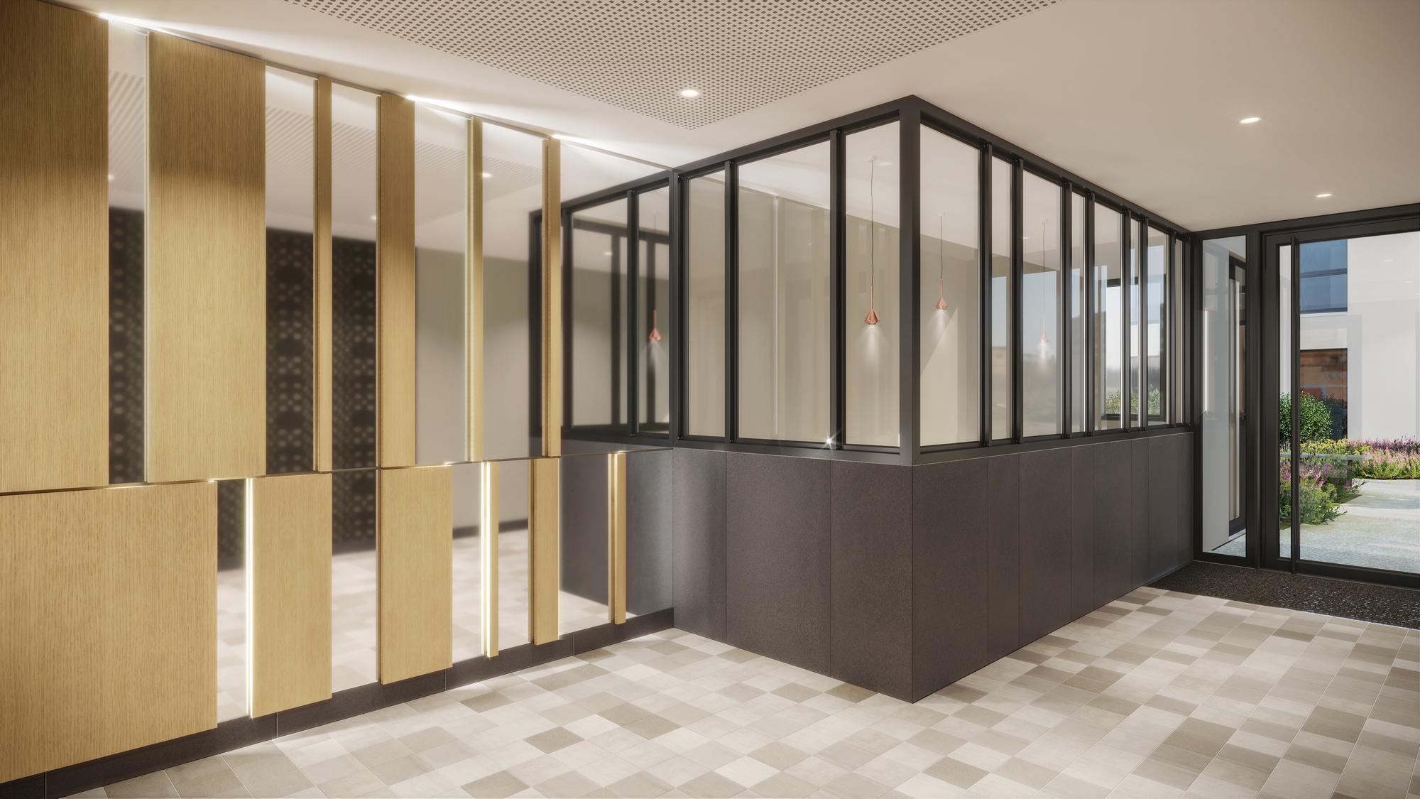 Cogedim_Le Carré d'Ikebana_Caluire_Image Hall
